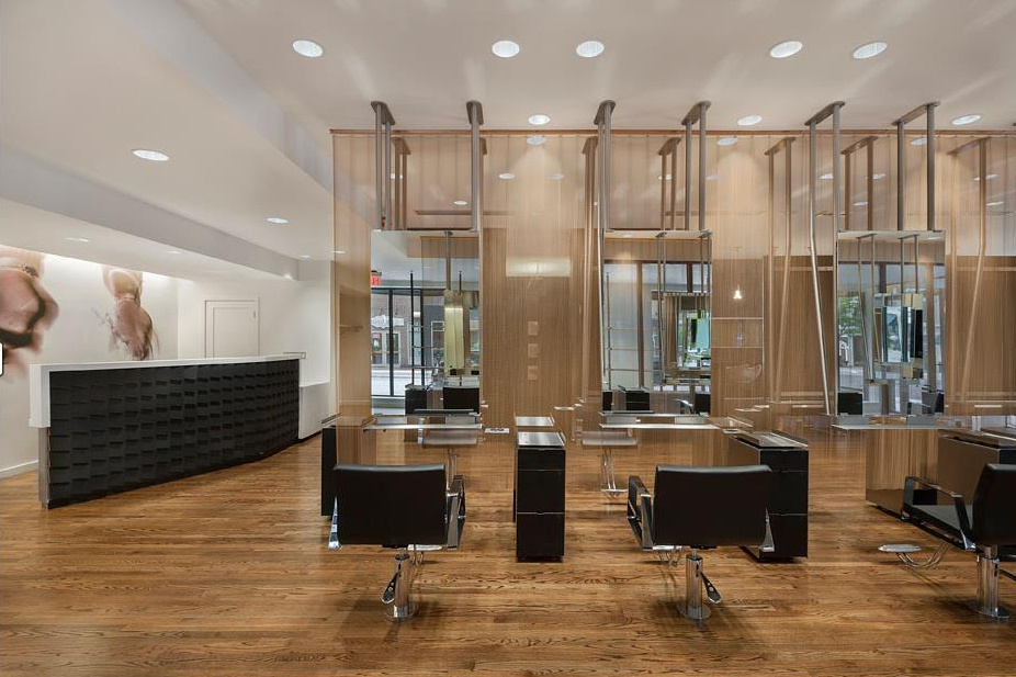 Wood Components Featured In Award Winning Salon Jb Cutting