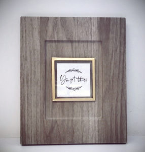 JB Cutting Picture Frame