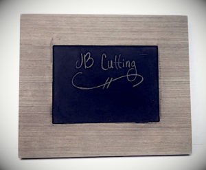JB Cutting Chalkboard